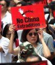 Cientos de miles de manifestantes marcharon contra las enmiendas al proyecto de ley en Hong Kong.