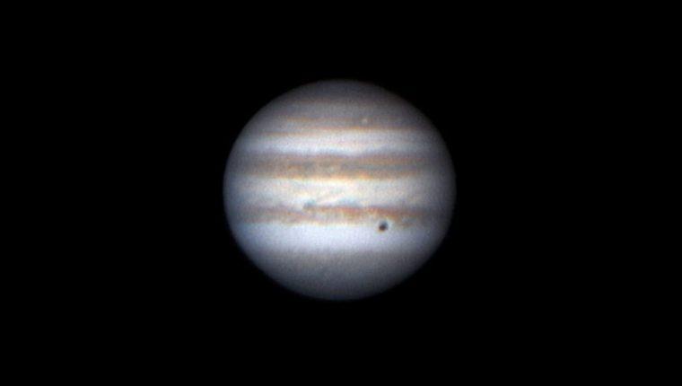 Júpiter realizará durante este mes de junio su mayor acercamiento a la Tierra en todo 2019.