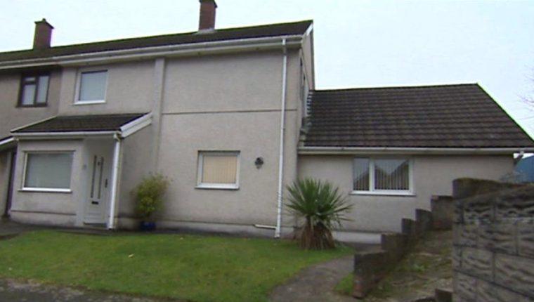 La casa de Kelley en Gales