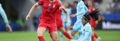 El partido entre Estados Unidos y Tailandia en el Mundial Femenino de Francia tuvo más goles que faltas.