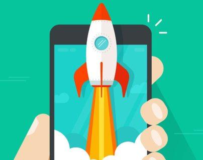 ¿Quieres que tu teléfono inteligente vaya como un cohete?