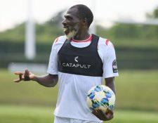 Joash Onyango juega como defensa en la selección nacional de Kenia.