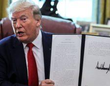 Donald Trump firmó este lunes una orden ejecutiva que corta el acceso de máximos representantes del gobierno de Irán a posibles activos financieros que tengan en el extranjero. GETTY IMAGES