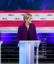 """Los memes de las caras de los """"contrincantes"""" cuando el candidato Beto O'Rourke (derecha) habló en español no se hicieron esperar... GETTY IMAGES"""