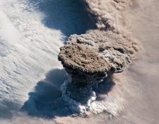 Esta fue la imagen captada desde la Estación Espacial Internacional.