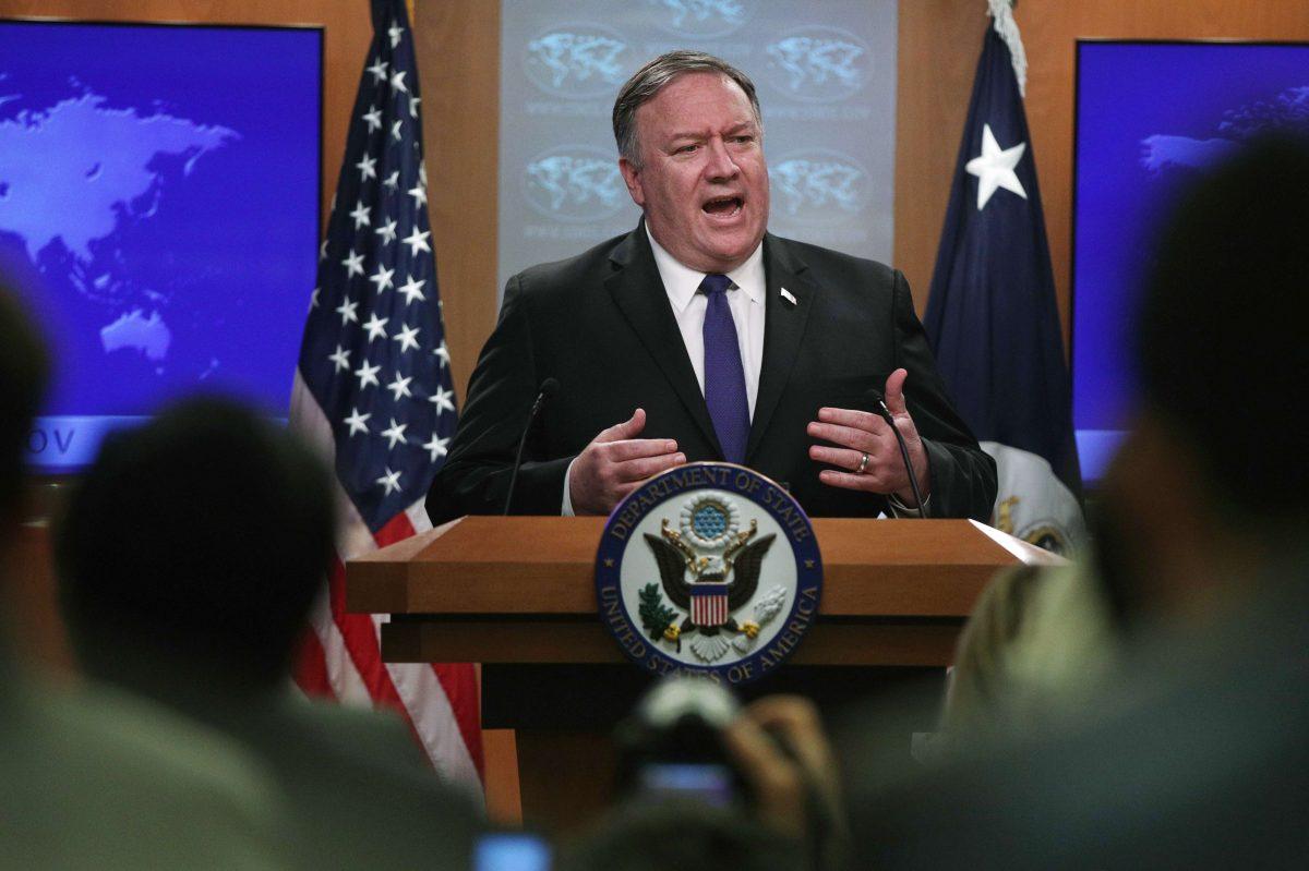 Pompeo afirma que Estados Unidos no ha comprometido dinero con México ni Centroamérica