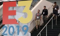 LOS ANGELES, CALIFORNIA - JUNE 10: Game enthusiasts and industry personnel arrive to the Los Angeles Convention Center ahead of the E3 Video Game Convention on June 10, 2019 in Los Angeles, California. The E3 Game Conference begins on Tuesday June 11.   Christian Petersen/Getty Images/AFP == FOR NEWSPAPERS, INTERNET, TELCOS & TELEVISION USE ONLY ==