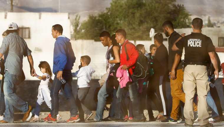 Estados Unidos detuvo en junio a 95 mil migrantes indocumentados en la frontera sur con México.