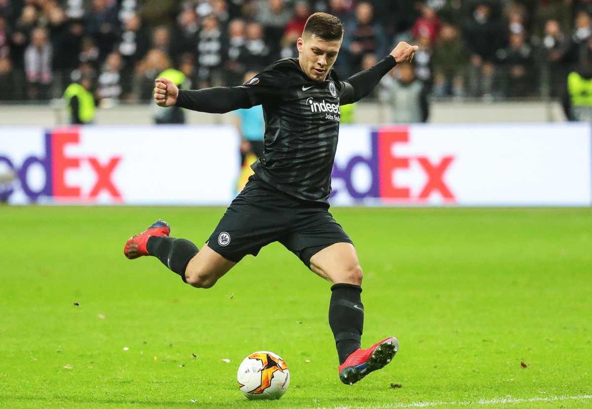 El madridista Jovic, lesionado, no jugará contra Luxemburgo