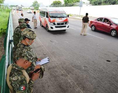 Gobierno mexicano despliega 103 policías en estación migratoria en Tapachula, Chiapas