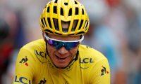 El ciclista británico Christopher Froome es el gran ausente en el Tour de Francia. (Foto Prensa Libre: EFE)
