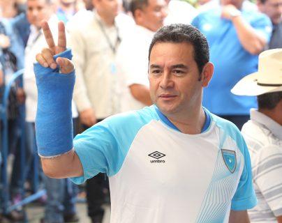 La administración Morales pidió que por lo menos 10 políticas impulsadas por él trasciendan al próximo gobierno. (Foto Prensa Libre: Hemeroteca)