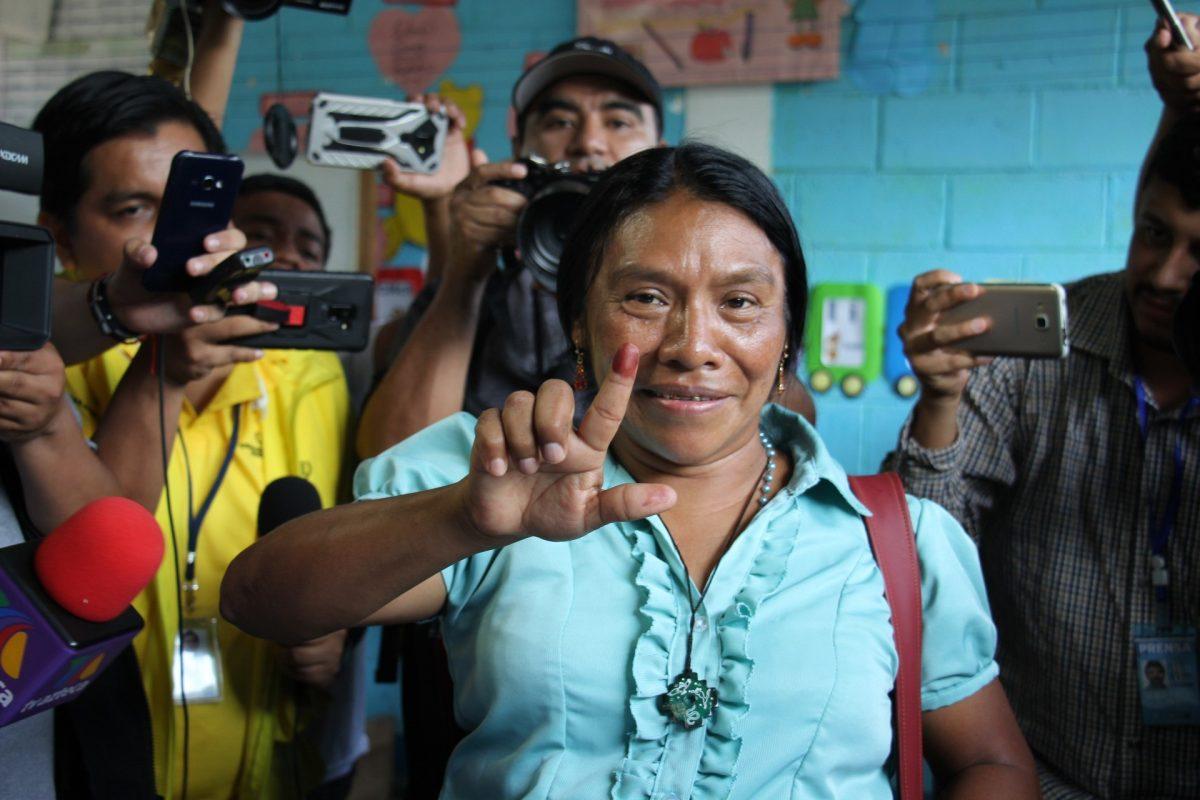 Thelma Cabrera desconoce resultados y TSE dice que respeta todas las opiniones
