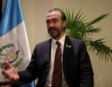 El ministro Acisclo Valladares Urruela acumula dos solicitudes de retiro de antejuicio en su contra. (Foto Prensa Libre: Hemeroteca)