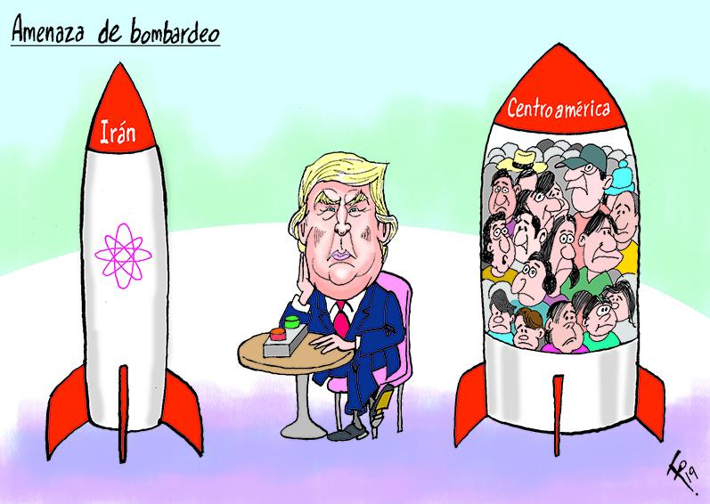 Amenaza de bombardeo