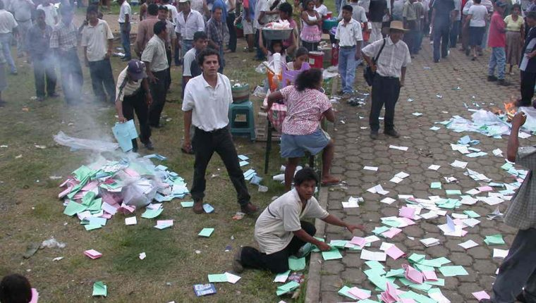 Varios factores motivan incidentes en diferentes procesos electorales. (Foto: Hemeroteca PL)