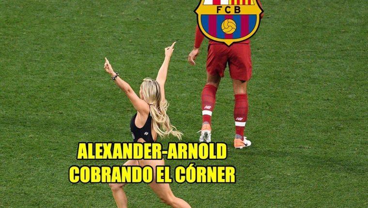 Los memes no han faltado en la final de la Champions League. (Foto Prensa Libre: redes sociales)