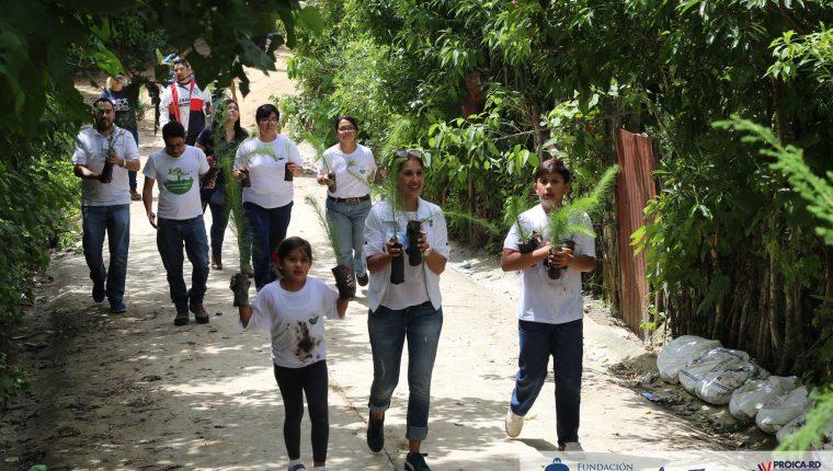 Este año se harán reforestaciones en 14 departamentos de Guatemala. Cortesía Fundación Esquipulas)