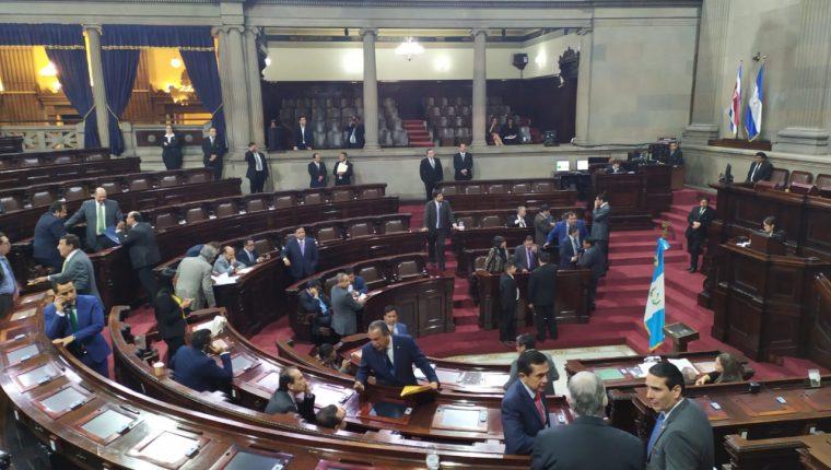 Los diputados convocaron por segunda vez a la Comisión de Postulación de la Corte Suprema de Justicia. (Foto Prensa Libre: Carlos Álvarez)