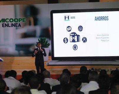 Mi Coope presentó la nueva plataforma digital Mi Coope en Línea. Foto Norvin Mendoza