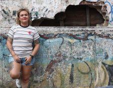 Rebeca Lane, rapera, socióloga,  poetisa y activista guatemalteca  (Foto Prensa Libre: Keneth Cruz).