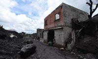 Vista de San Miguel Los Lotes, un año después de la erupción del Volcán de Fuego que destruyó a ese poblado y causó más de 200 muertos. (Foto Prensa Libre: AFP)