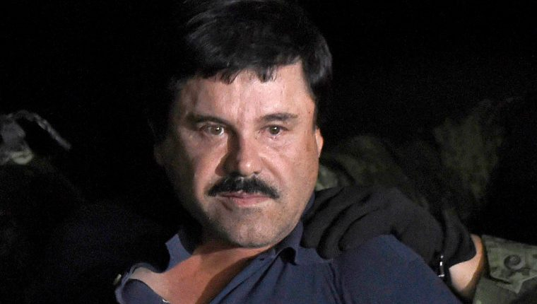 Joaquín Guzmán Loera fue condenado a cadena perpetua por crímenes relacionados al narcotráfico. (Foto Prensa Libre Hemeroteca)