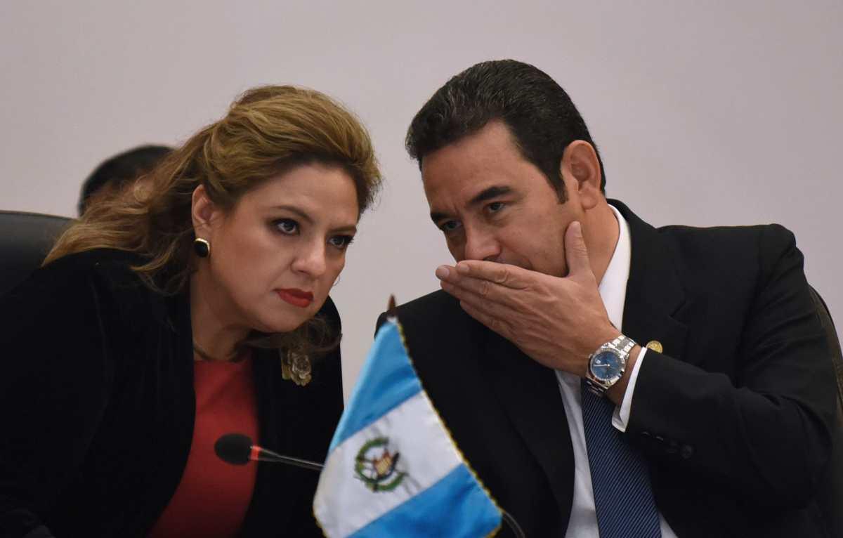 Jimmy Morales y Sandra Jovel viajarán a Turquía y Emiratos Árabes a inaugurar embajadas