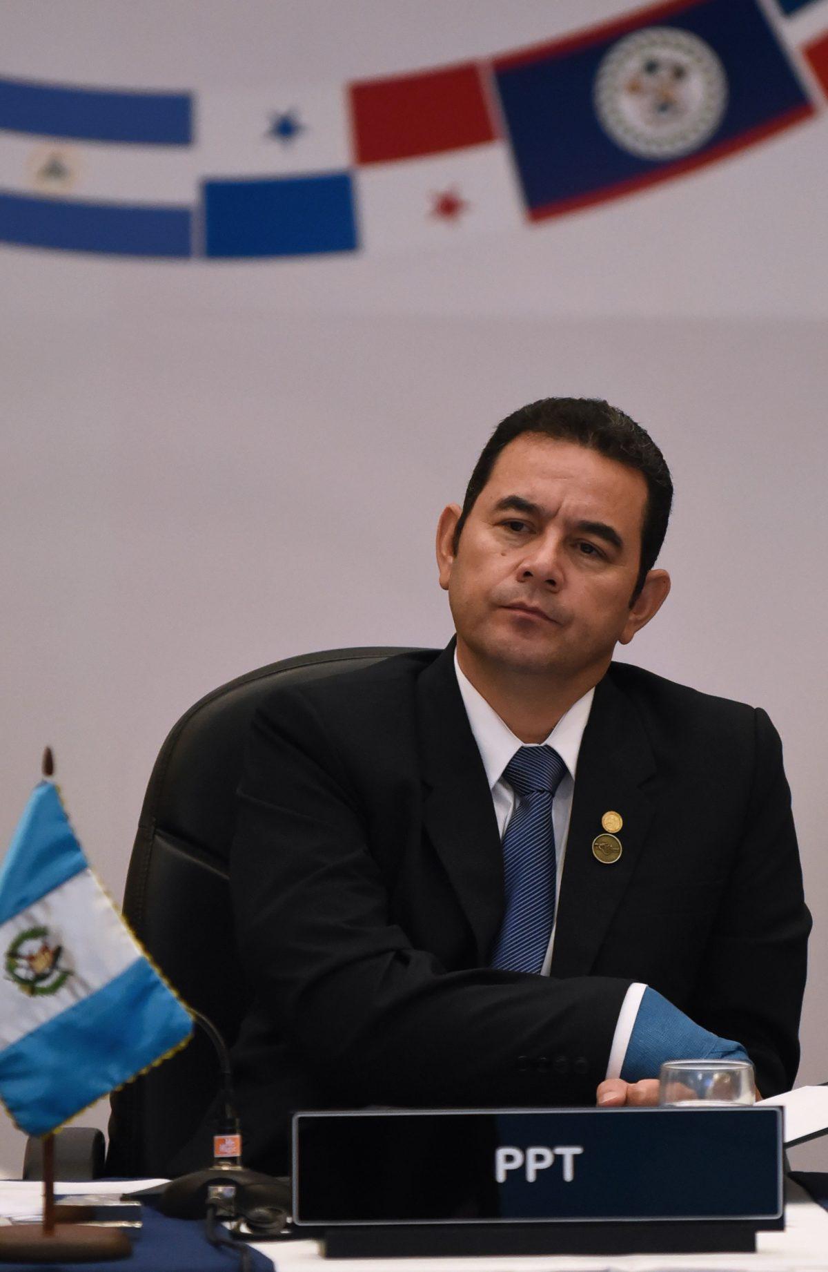 Jimmy Morales no participará en lanzamiento de plan de desarrollo para Centroamérica