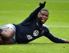 Paul Pogba busca estar en un equipo que le de más satisfacciones. (Foto Prensa Libre: AFP)