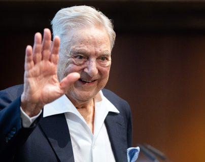 El empresario estadounidense George Soros, uno de los 18 firmantes de la carta. (Foto Prensa Libre: AFP)