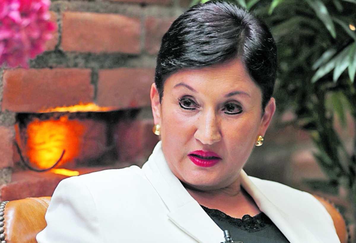 Thelma Aldana dice que estaba segura de que Mario Estrada quería matarla