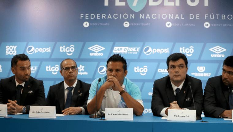 El Comité Ejecutivo de la Fedefut espera poder dar mayor participación a los futbolistas guatemaltecos. (Foto Prensa Libre: Hemeroteca)
