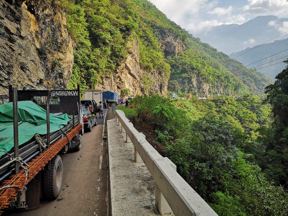 Pobladores de Huehuetenango bloquean la ruta Interamericana y accesos a la cabecera