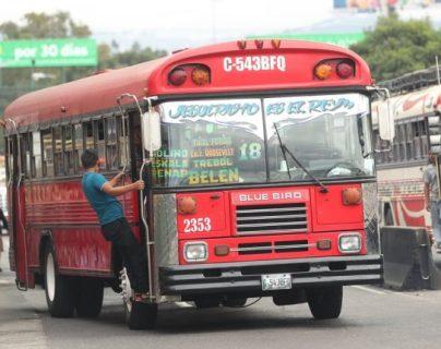 Protocolos sanitarios para evitar contagios de covid-19 también se probarán en buses rojos