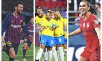 El salario de Lionel Messi ha sido comparado con el de mujeres futbolistas, en busca de la igualdad. (Foto Prensa Libre: Hemeroteca PL)