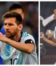 Lionel Messi y Carlos Ruiz tienen 68 goles con sus respectivas selecciones. (Foto Prensa Libre: AFP y Hemeroteca PL)
