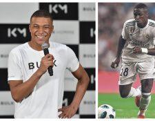 Mbappé y Vinicius cruzan palabras en la red social Instagram, aseguró el brasileño. (Foto Prensa Libre: Hemeroteca PL)