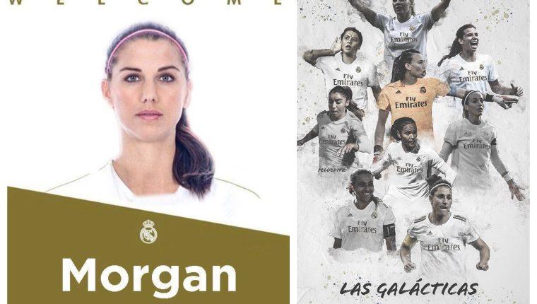 Los aficionados del Real Madrid ya se ilusionan con los fichajes que haría su equipo para el cuadro femenino. (Foto Prensa Libre: Twitter)