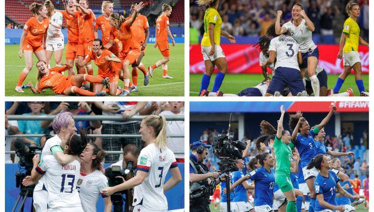 Ya están definidas las llaves de cuartos de final de Francia 2019. (Foto Prensa Libre: EFE)