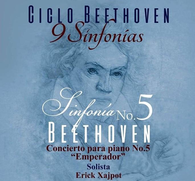 Quinto concierto del ciclo Beethoven