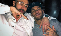 Karim Benzema publicó una fotografía junto a Neymar. (Foto Prensa Libre: @karimbenzema)
