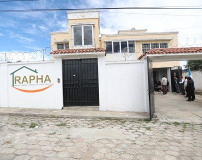 Esta será la casa que funcionará como un refugio para los pacientes del HRO. (Foto Prensa Libre: María Longo)