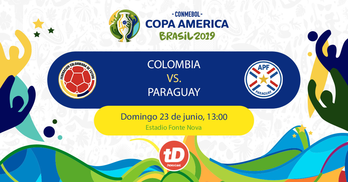 colombia vs paraguay - photo #23