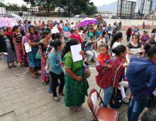 Diputados denunciaron días antes de las elecciones que algunos programas del MAGA estaban siendo utilizados de forma clientelar.  (Foto Prensa Libre: Hemeroteca PL)
