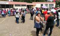 De acuerdo con el Maga los beneficiados pidieron ayuda a los Cocodes y estos al Gobierno. (Foto Prensa Libre: María Longo)