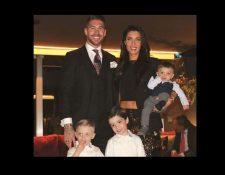 Sergio Ramos y su familia, vivirá un evento muy especial el 15 de junio. (Foto Prensa Libre: Instagram)
