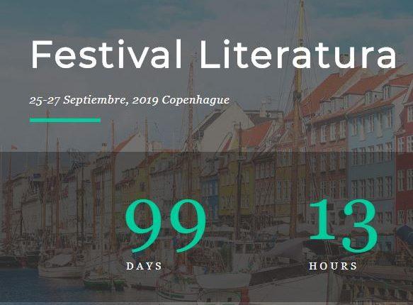 El Festival de Literatura en la capital de Dinamarca reúne a expertos de más de 15 países. (Foto Prensa Libre: Festival de Literatura Copenhague 2019)