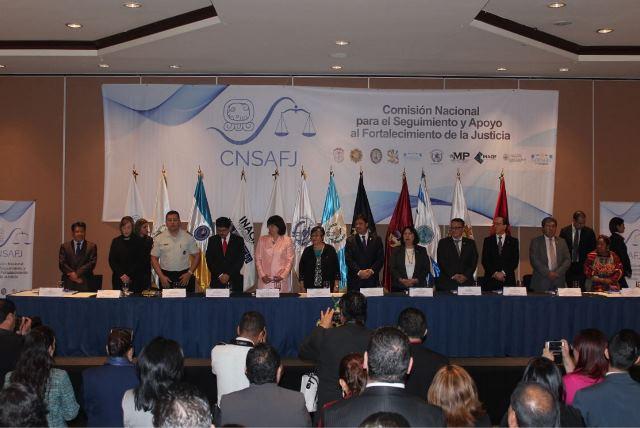 Gobierno disuelve la Comisión Nacional para el Seguimiento y Apoyo al Fortalecimiento de la Justicia