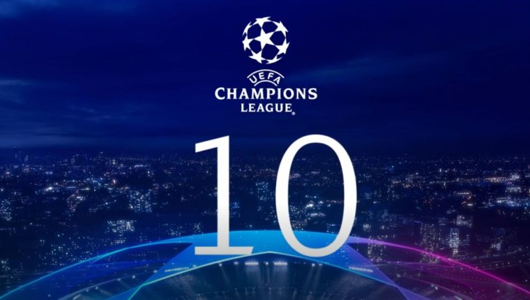La UEFA dio a conocer el top 10 de goles de la temporada. (Foto Prensa Libre: Twitter)